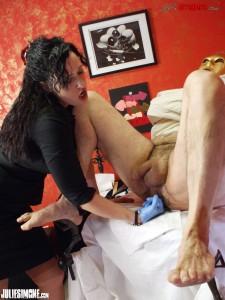 Mistress Julie Simone Anal Play