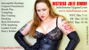 Mistress Julie Simone