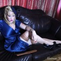 Julie Simone in Silk & Stockings
